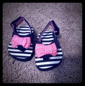 Other - Pink Bow Sandals